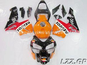 fairings+tank for Honda CBR600RR F5 2003 2004 CBR600 RR 2003-2004 CBR600RR 03 04 F5 fairing kits #8c7n2 red orange black
