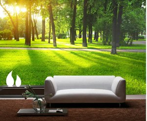 High Quality Customize size Modern Nature sofa background wall mural 3d wallpaper 3d wall papers for tv backdrop