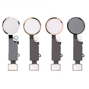 """Nuove parti Tasto Home Button per iPhone 7 4.7 """"Tasto Home Flex Cable + Key Cap Assemblaggio completo Oro Nero Argento Oro rosa"""