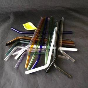 Оптовая продажа-10шт красочные стекла Pyrex питьевой соломы Свадьба День Рождения диаметр 8 мм * 20 см