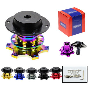 Neo cromo Universal De Alumínio Volante Snap Off New Quick Release Adaptador Hub Snap Off Boss kit