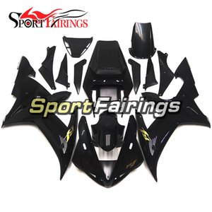 Complete Motorcycle Gloss Black New Fairings For Yamaha YZF1000 R1 02 03 2002 2003 Injection ABS Fairings Motorcycle Bodywork Cowlings