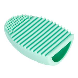 Brushegg Pro Ovo Luva De Limpeza Maquiagem De Limpeza Escova De Lavar Luva De Sílica Placa de Purificador de Cosméticos Ferramentas Limpas Escova De Limpeza Livre DHL
