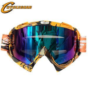 Cyclegear Motosiklet gözlük ATV DH MTB Dirt Bike Gözlük Oculos Antiparras Gafas motocross Güneş Gözlüğü CG08