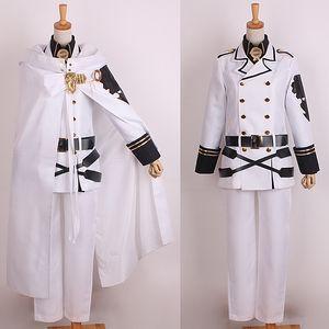 Seraph of the End Mikaela Hyakuya Uniforme Cosplay Disfraces