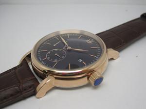 2019 Hot vente montres mécaniques montre de montres de luxe homme verre mouvement automatique arrière 048-2