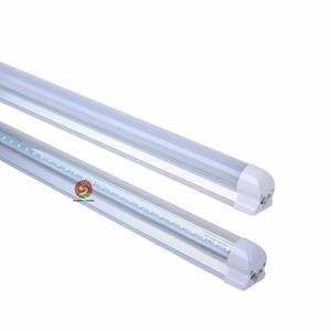 HOT!8ft Led T8 Tubes 45W 8 FT Led Lights Tubes Integrated 2400mm Led Fluorescent Light AC85-265V 30pcs Factory direct hotsale! STOCK IN
