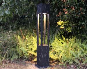 1 متر حديقة عمود القطب ساحة مربط الحبال الصمام ضوء مصباح فيلا luminare الحديثة للماء مربع في الهواء الطلق في حديقة ضوء مصباح