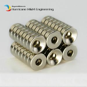 600шт. Утопленный магнит с отверстиями диаметром 12x3 (+/- 0,1) мм толщиной M3 винт с потайной головкой неодимовый редкоземельный постоянный магнит
