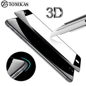 3D круглый изогнутый край закаленное стекло для iPhone 6 6 S Plus полное покрытие защитная премиум протектор экрана фильм безопасности Case