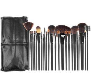 Pinceaux de maquillage professionnel 24pcs 3 couleurs Maquillage Brush Sets Pinceau de cosmétiques Set Pinceaux de maquillage maquillage pour vous brosse