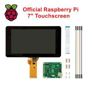 """Freeshipping Official Raspberry Pi 7 """"Pantalla táctil 800 * 480 Monitor de pantalla para Raspberry Pi 3/2 Modelo B / B + / A +"""