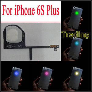 اصنع شعار 6S Plus اللامع المتوهج لـ iPhone 6S Plus و LED Logo Luminescent LED Light لاستبدال iphone6S Plus سريع مجاني