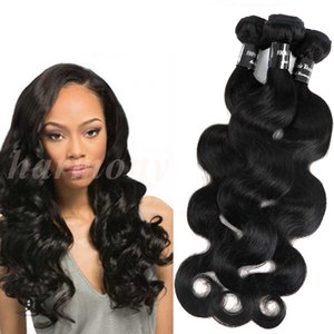 Indian Hair Extensions Virgin Hair Weaves Body Wave Bundles Sin procesar Brasileño Peruano Malayo Europeo Rosa Productos para el cabello