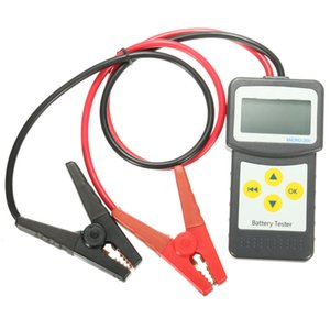 Freeshipping 12V ABS 자동차 배터리 테스터 자동차 차량 배터리 분석기 전기 악기 내구성 품질