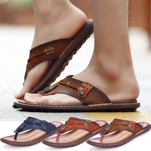Men Fashion Summer Flip Flops Shoes Sandals Slipper Indoor & Outdoor Flip-flops Fashion Casual shoes Free shipping
