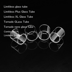 Tube de verre de rechange pour IJOY Limitless Plus XL Tornado 5ml Tornado nano Tube de verre XL Limitless Combo RDTA