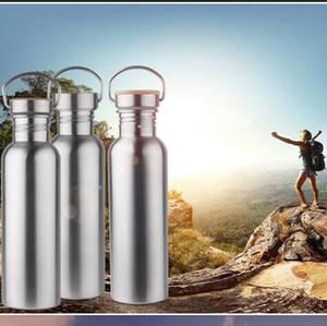 750 ML Garrafas de Esportes Ao Ar Livre de Aço Inoxidável Caneca térmica Vácuo Duplo Parede Drinkware Escalada Caminhadas Copos OOA2098