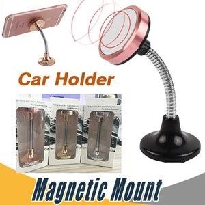 Metal de aço universal 360 ° no carro pára-brisas dashboard suporte de montagem suporte para iphone x 8 plus samsung nota 8 s8 suporte magnético kickstand