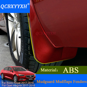 QCBXYYXH Car Styling Car Flap Flaps Pour Buick Regal Opel Insignia 2017 2018 Berline Mudflaps Splash Guards Mud Flap Mudguard Fender