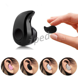 S530 Mini Bluetooth Earphone Stereo Light Wireless Invisible Headphones Super Headset Music answer call With crystal retail package 30pcs