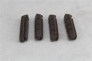 pastiglie dei freni a disco in carbonio di ricambio, 4 pezzi / lotto (2 coppie) per un set di ruote, pattini V-brake per biciclette da strada