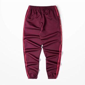 dos homens calças calças de moda Estação Crewneck Sweatpants S-4XL Calças homens soltos Corredores confortável Elastic Pant com alta qualidade
