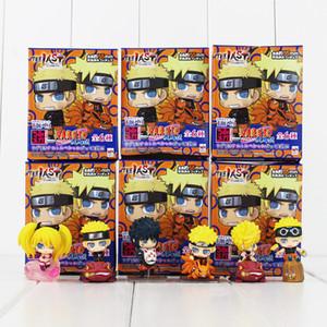 Anime Naruto Uzumaki Naruto PVC Action Figure Collection Modello giocattoli per i bambini regalo di vendita al dettaglio il trasporto libero