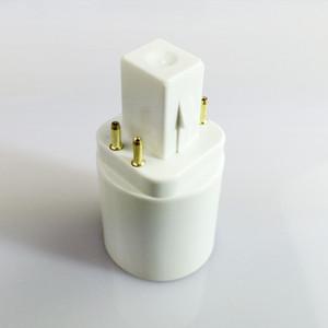 2 контакта или 4 контакта G24 штекер к E27 штекер G24d G24q к E26 E27 адаптер конвертера держателя цоколя лампы