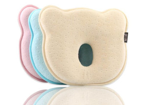 Comfortable Baby shaped pillow Memory pillow for 0-1 year babies