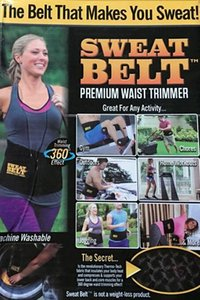 Wholesale- New ! Sweat Belt Premiun Waist Trimmer,The Belt That Makes You Sweat ! Sweat More Where You Want It Most ! (No Box)