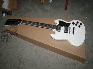 Nueva guitarra blanca de 12 cuerdas Custom Shop Electric Guitar de China New Arrival HOT Guitars