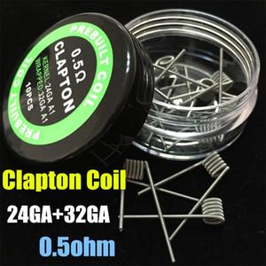 예비 내장 코일 9 유형 가열 저항 전선 외계인 Fused Clapton 플랫 믹스 Twisted Hive 쿼드 타이거 mods Vapor RDA premade coil head