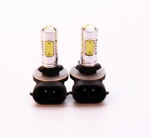 Bom preço para luzes de nevoeiro led cob 7.5 w auto luzes de nevoeiro do bulbo Levou H1 H3 H4 H7 9005 9006