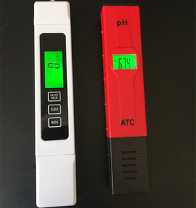 PH Tester & TDS EC Test Conductivity Water Filter Hydroponic Pool Meter Pen Water Measurement Monitor Tool