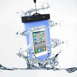 100% Mühürlü Su Geçirmez Çanta Case Kılıfı Telefon Kılıfları iPhone 7 için 6 6 s Artı 5 s Samsung Galaxy S7 S6 S5 S4 kenar artı Cep Telefonları