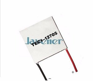 Wholesale- TEC1-12705 Heatsink Thermoelectric Cooler Peltier Cooling Plate 40x40mm 5A Refrigeration Module
