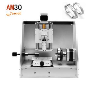 Высокая точность AM30 ювелирные изделия гравировальный станок для колец внутри и снаружи серебряные цепи браслеты,подвески и другие ювелирные изделия из нержавеющей