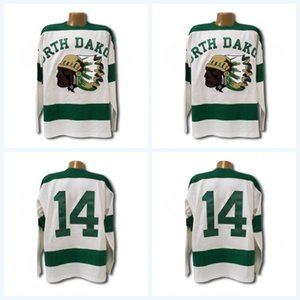 1954 North Dakota Sioux Jersey Men's 100% Stitched Fighting Sioux DAKOTA Hockey Jerseys Any Name and Any Number Mix Order