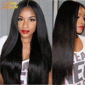 Longjia Products Brazilian Virgin Hair Straight 4Bundles Lot Brazilian virgin Hair Weave Bundles Extensiones de cabello humano Free Shepping