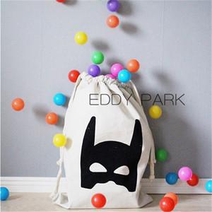 INS Large Storage Bag giocattoli del bambino coulisse Pouch Box Orso Batman Hanging lavanderia Buggy Borse Cesti Container abbigliamento Xmas Sack Stocking