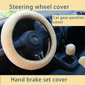 Universal Auto car steering wheel covers Multicolor Suede Vehicle Steering Wheel Cover Classic Car Wheel Protector
