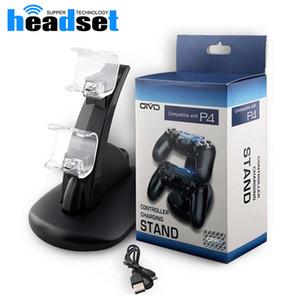Controladores Universal carregador duplo de carregamento para reproduzir estações PS4 X-box Controlador doca de carregamento Station jogo stand titular