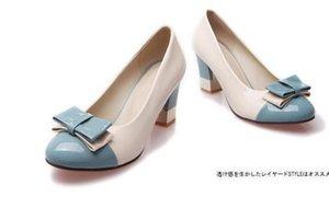 Хань издание цвет соответствия лук маленькие ярды туфли на высоком каблуке большие ярды толстые документальные работы обувь
