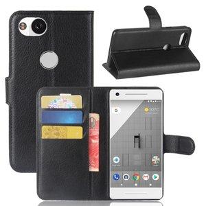 Difronte nova chegada carteira de couro de luxo case para google pixel 3 xl tpu telefone flip capa bolsa para o google pixel 2