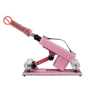Sex Machine Machine Sex для женщин и игрушек Мужчин Робот с фаллоимитатором и мастурбацией Пары Мебель автоматические для любви Qwwdg