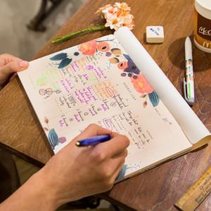 Atacado- 50 Folhas Semanal Planejador Mesa Memo Notebook Pode Rasgar Agenda Semanal Agenda Agendador Organizador para 50 Semanas de Material Escolar Escritório