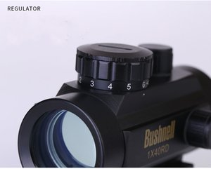 2017 Envío gratis 1X40 Tactical Holográfico Red Green Dot Rifle scope Sight para 11mm / 20mm Picatinny / Weaver Mount Optical Sight Scope