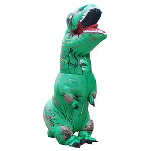 Dünya T-Rex Şişme Kostüm Uni-Seks Yetişkin Dinozor Fantezi Elbise Cosplay Kostüm
