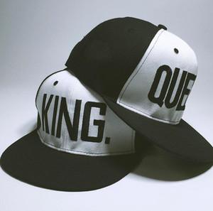 КОРОЛЕВА КОРОЛЕВА Snapback Hat Акриловая Пара Бейсболка Мужчины Женщины Любители Подарки Для Девочки Подруги Хип-Хип Cap Последние Короли Casquette